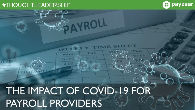 Impact of COVID19 for Payroll Providers